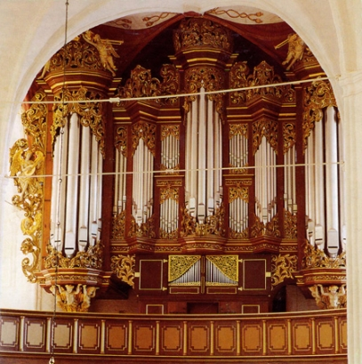 Orgel in Stade, St. Wilhadi